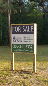 United Country - Lands of North FL Realty. For Sale Sign