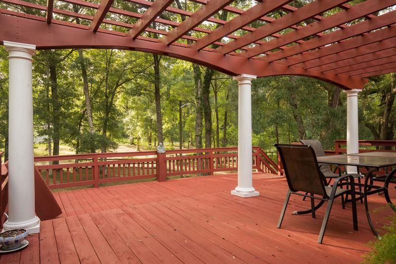 Home for sale in Live Oak FL Back Porch