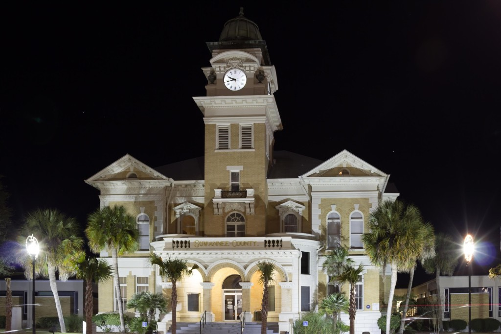 Suwannee County Courthouse in Live Oak, FL