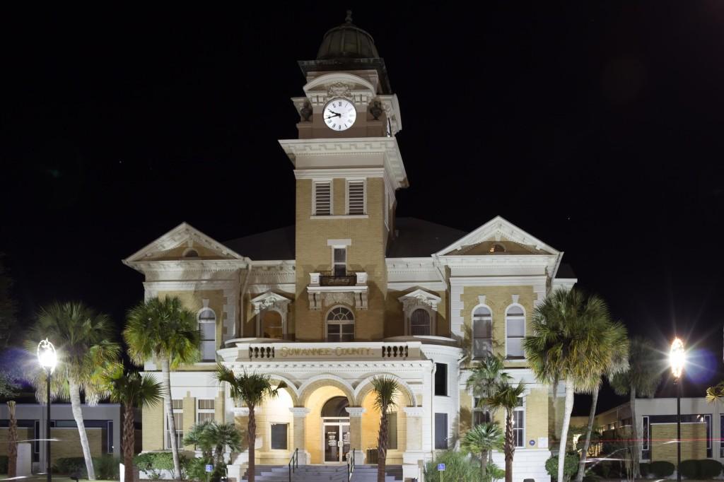 Suwannee County Courthouse in Live Oak, FL