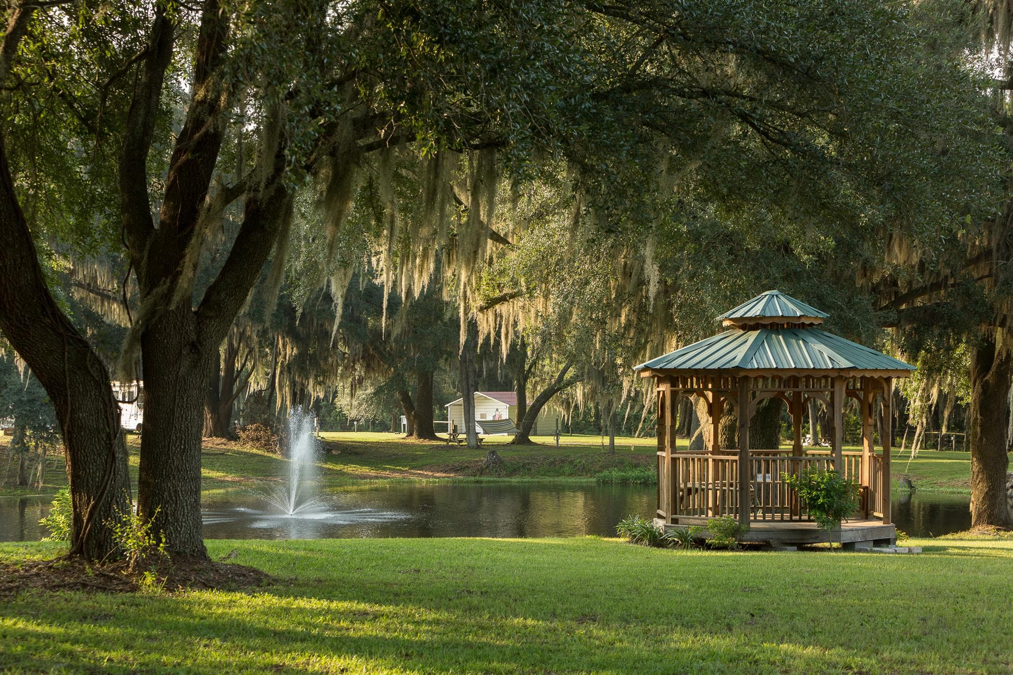 Property with pond and fountain for sale in Live Oak, FL