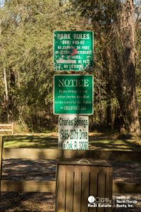 Park Rules and Address at Charles Springs