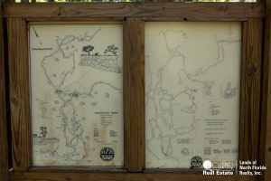 Map of the underground cavern complex at Peacock Springs - Wes Skiles State Park