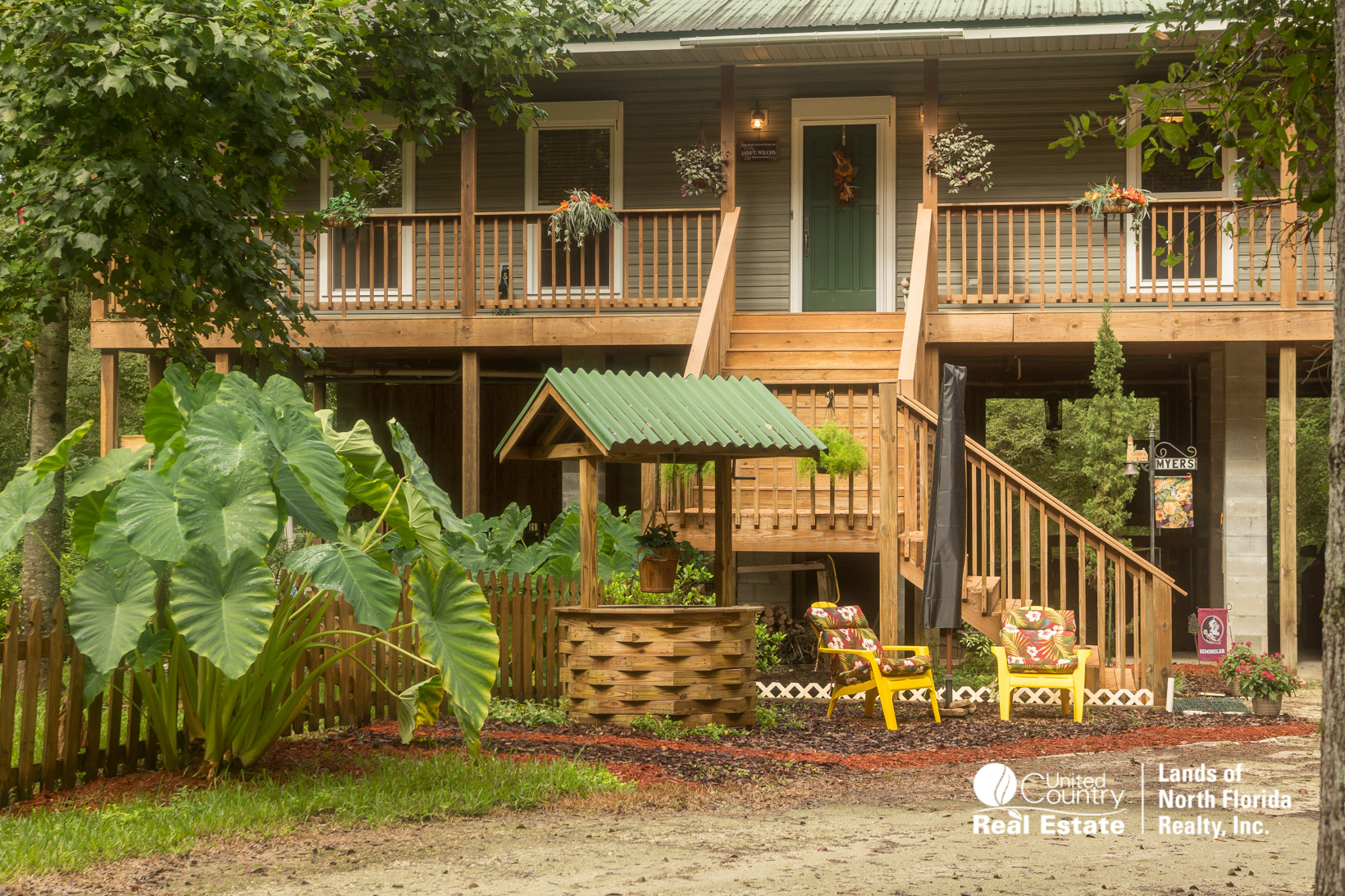 Home with Front Porch and Steps